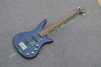 free shipping customized new arrived electric bass guitar with mahogany body +foam box F-1894