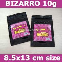 Free shipping,BIZARRO 10g herbal incense bags,bizarro incense zip lock bags