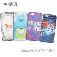 My 5s colors for   iphone   mobile phone case shell for  for iphone   5 phone case protective case transparent fresh