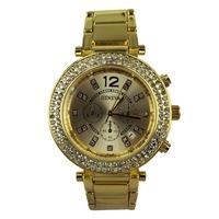 relogios masculinos 2014 Hot sale Luxury brand Geneva Ladies women Rhinestone watches  full men watch steel quartz Dress Watch