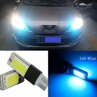 2x T10 COB LED White Super Bright Car Light Canbus Error Free 194 168 2825 W5W Parking Backup Reverse For Brake Lamp