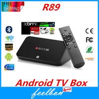 Ubox Android TV BOX Quad core R89 RK3288 1.8Ghz Cotex-A17 RAM 2GB ROM 8GB 4Kx2K H.265 Android 4.4 OTA update Bluetooth XBMC
