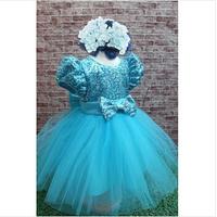 2014 beautiful girls clothes hot high-end layered princess dress children clothes