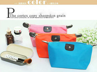 Large capacity dumplings package small cosmetic bags waterproof dumplings bag hand bag handbag