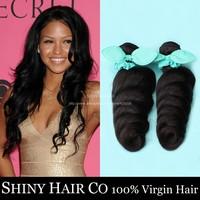 5pcs/lot Grade 6A Peruvian Virgin Hair Loose Wave Human Hair Weave Bundles Unprocessed Virgin Peruvian Loose Wave Hair Extension