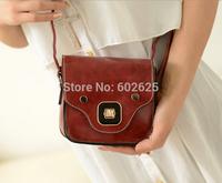 2014 new handbag candy color pu cartoon pig nose Shoulder Messenger handbags wholesale