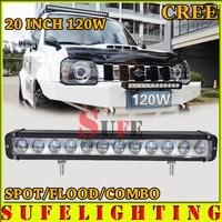 Free DHL Shipping NEW 10W 20'' 120W CREE LED Light Bar Offroad Work Light Bar For Truck Boat 4X4 SUV Car Driving Fog Light 100W