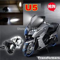 U5 Xenon White Fog Light 3000LMW High Bright CREE LED Car Motorcycle Laser Lamp Head Lights Safe Running Driving Headlight