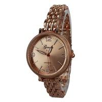 Hot sale 2014 Luxury brands Geneva women watch Quartz gold Watch montre homme Women Dress Watch reloj hombre