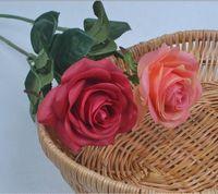 Simulation Rose flower artificial rose flowers man-made flowers fake flowers