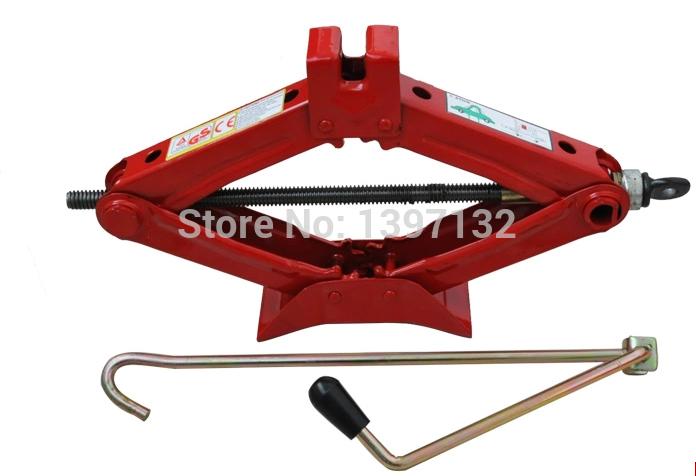 Free shipping automotive car jack hand jack lift super good quality!(China (Mainland))