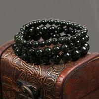 2014 fashion women jewelry natural stone beaded bracelet green sand Bracelet Rose Quartz Bracelet