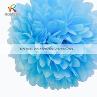 Mix Different Colors***20pcs  (10inch) 25cm Tissue Paper  Pom Poms Wedding Party Festival Decoration