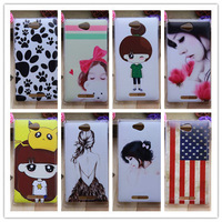 New 2014 items Cartoon Case  For Sony Xperia C   S39H  Mobile Phone Case Protective Case Cell Phone Case Free Shipping! +Gift.