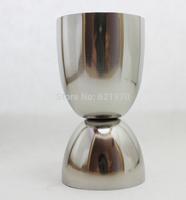 Free Shipping Stainless Steel Japanese Jigger, Measuring Cup 30/50ml, shot glass, D shape Jigger