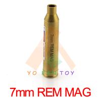 7mm REM MAG Catridge Red Laser Bore Sighter 7mm Catridge Laser Boresight Copper Hunting 7mm Laser Red Dot