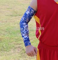 Sale for Christmas 20pcs Digital Camo Compression Sports Arm Sleeve Moisture Wicking softball, baseball ,cycling sleeve