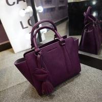 Freeshipping New Hot 2015 women's handbag fashion new arrival fashion tassel bag handbag messenger bag handbag women's trend