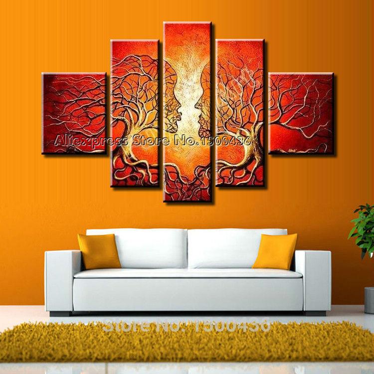 Oil Tree Paintings Oil Wall Art Canvas Tree