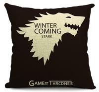 juego de tronos ikea decoration cushion cover linen pilow case cover to pad sofa throw pillows