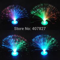 2 Pcs LED Optic Fiber Light Colorful Multi-Color Flashing Night Light Christmas Light for Home Decoration Party Bedroom Wedding