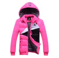 2014 brand warm winter jacket women down solid color winter coat women fashion parka female M-XXL m07