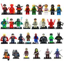 Marvel Super Heroes Figures 31 Pcs/lot The Avengers Building Blocks Sets Minifigures Classic Toys Bricks Compatible With Legooo(China (Mainland))