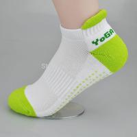 Hot Sales Women Professional Yoga Socks Anti Slip Rubber Dots Sports Indoor Exercise Socks Latex Pilates Socks