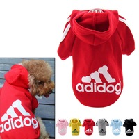 2014 new arrival 100% cotton  Dog pet clothes spring fall winter Dog Cost Dog sport clothes Hoodie Coat cloths