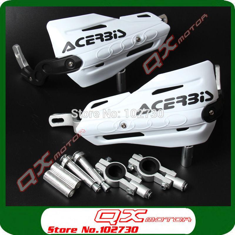 "NEW ACERBIS Handlebar handguards Hand Guards Fit 7/8"" 22mm Bar Or 1-1/8 28mm Fat Bar Motorcycle Motorcross Dirt Bike ATV Quad(China (Mainland))"