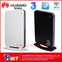 Free Shipping UNLOCKED HuaWei B260a HSDPA/HSUPA/WCDMA 3G Wireless Gateway Router unlocked HSDPA WIFI router