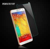 2014 hot explosion proof tempered glass screen protector for samsung galaxy note4 note 4 0.26mm protection film retail package