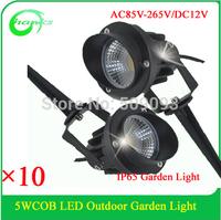 IP65 Outdoor decoration light 5W COB  garden light DC12V AC 220V 5W COB lawn light