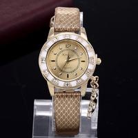 2015 Fashion casual quartz watch women Dress Watches luxury brand Leather Swan Pendant Wristwatch Women hour relogio feminino