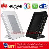 UNLOCKED HuaWei B220 2/3G WiFi wireless router B200 upgraded version HSDPA Wireless Gateway with telephone interface