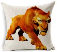 anime ice age cushion cover cartoon animal cojine decorativos wonderful throw pillow case