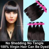 4 Bundles Malaysian Virgin Hair Straight Natural Black 6A Unprocessed Human Hair Weave Malaysian Straight Hair Vip Beauty Hair