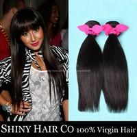 5 Bundles Malaysian Virgin Hair Straight Natural Black Unprocessed Human Hair Weave Juliet Virgin Hair Modern Show Hair Wowigs