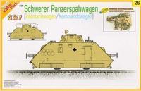 Dragon model 9126 1/35 Schwerer Panzerspahwagen