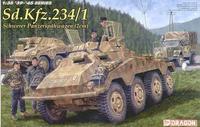 Dragon model 6298 1/35 German Sd.Kfz.234/1 Schwerer Panzerspahwagen (2cm)