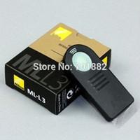 100pcs/lot Genuine ML-L3 Remote Control For D7000 D5100 D5000 D3000 D90 D70 D60 D40