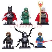 Minifigures SUPER HEROES Avengers Assembled Building Blocks Combined Educational