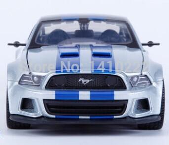 Ford mustang alloy car model 1:24 simulation Need for speed model car 1:24 Ford Mustang alloy models(China (Mainland))