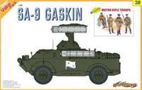 Dragon model 9138 1/35 SA-9 GASKIN+BONUS MOTOR RIGLE TROOPS