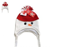 2015 New Kids Winter cap E.mirreh Baby Christmas Gift  Snow Knitted hat Nice Knit Cap 3 size 40-54cm