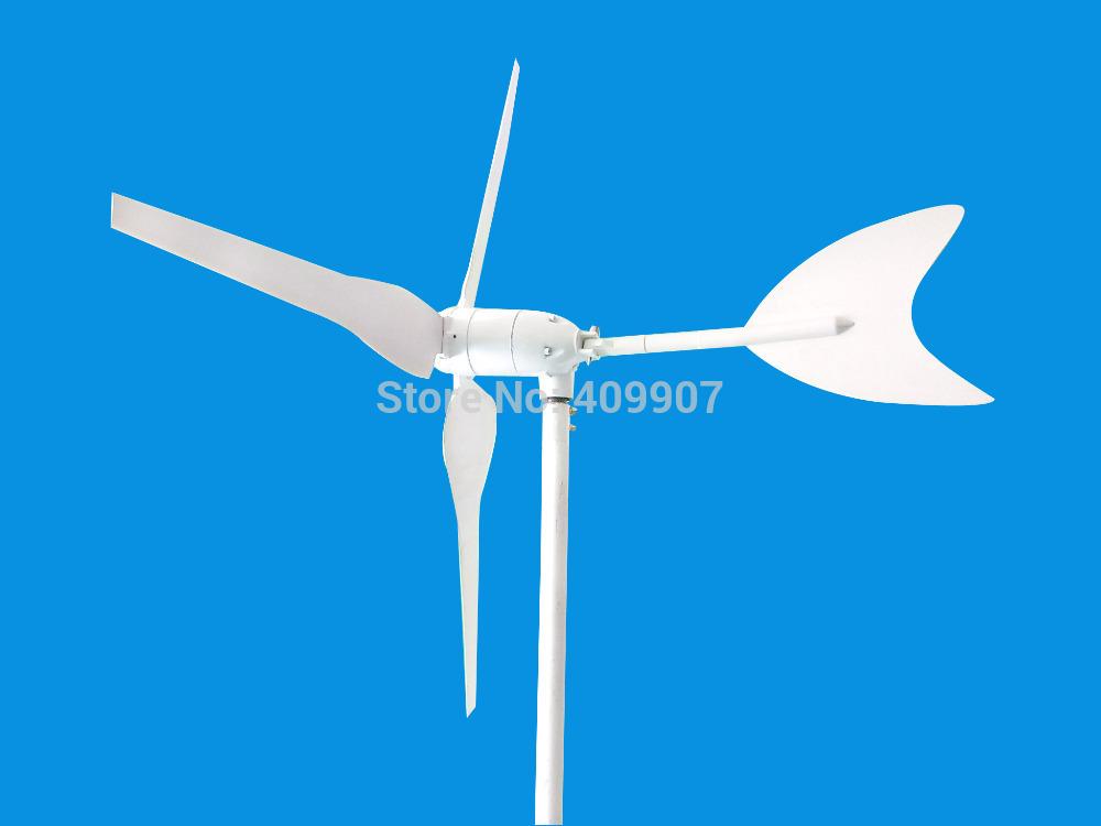 wholeasle 1pcs DC12V 24V 3blades 100w small wind turbine windmill wind generator(China (Mainland))