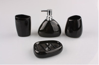 Fashion Bathroom Set  4pcs Ceramic Bath Sets four pieces Sanitary Set  Porcelain Bath Accessary Sets