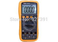 Free Shipping VICTOR 9807A+ 4 1/2 LCD display digital Multimeter Electrical Meter AC/DC Voltmeter Ohmmeter handhold tester