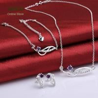 LKNSPCS785-C 2014 bulk sale cheap bridal party jewelry sets