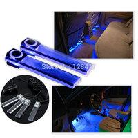 K811Car Interior LED Car Atmosphere Lights Decorative Car Decoration led Lights Lamp Bulbs Color Blue Car led light